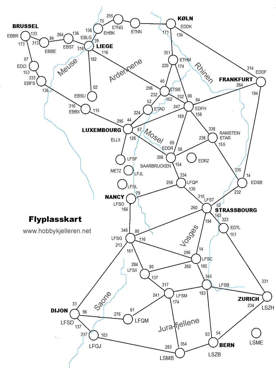 flyplasser tyskland kart flight simulator flyplasser tyskland kart
